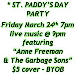 * ST. PADDY'S DAY